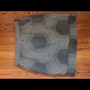 Anthropology Women's Geometric skirt
